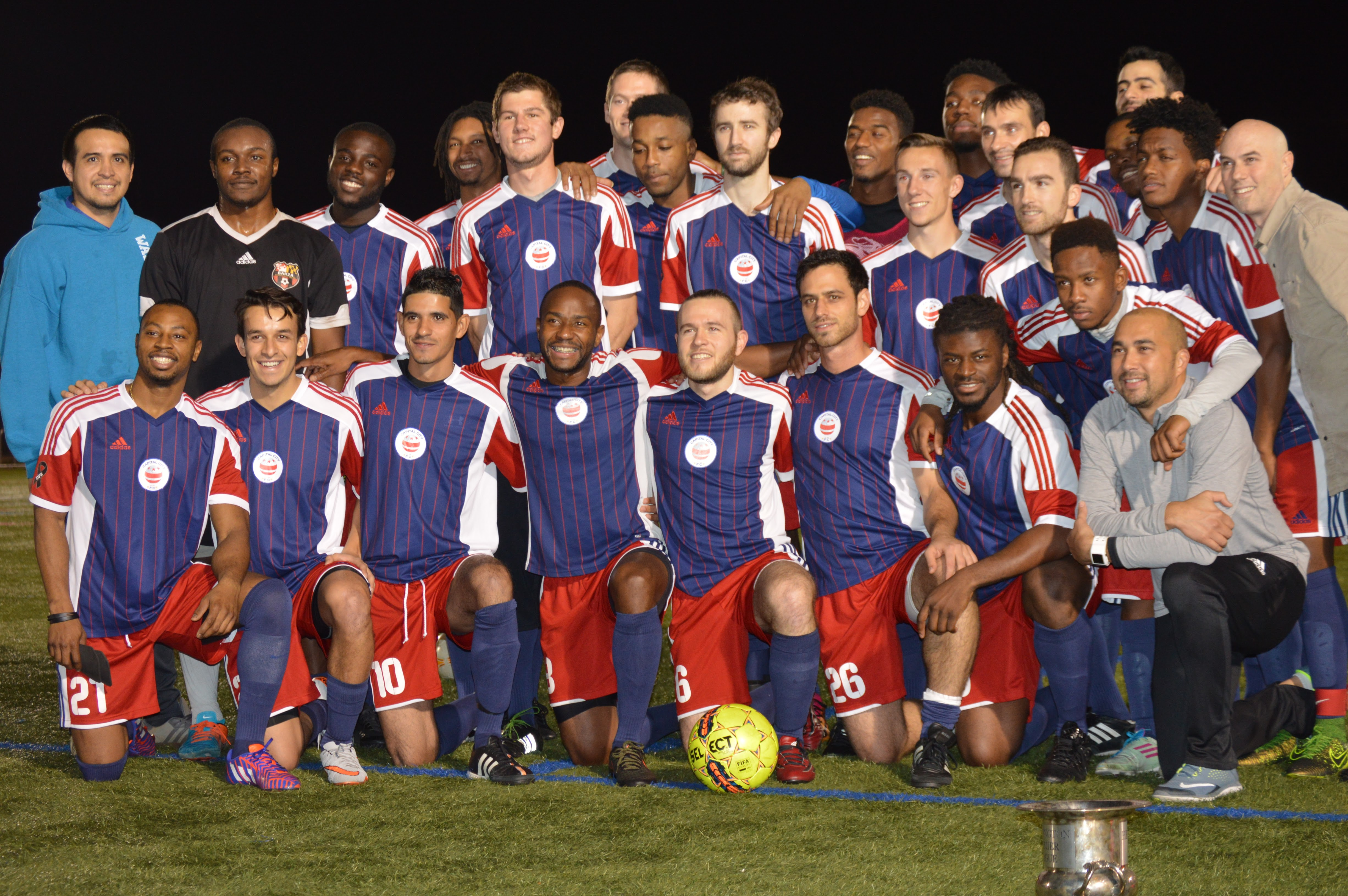 Capital City FC Win Fall 2015 Helge Boes Cup (WPL Championship)